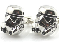 Wholesale Creative Art Selling starwar Star Wars Cufflinks Cufflinks male French coin Cufflinks YW