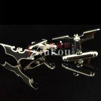 Wholesale Creative Art Selling ixiukou night bat male French cufflinks Cufflinks Button Cufflinks YW
