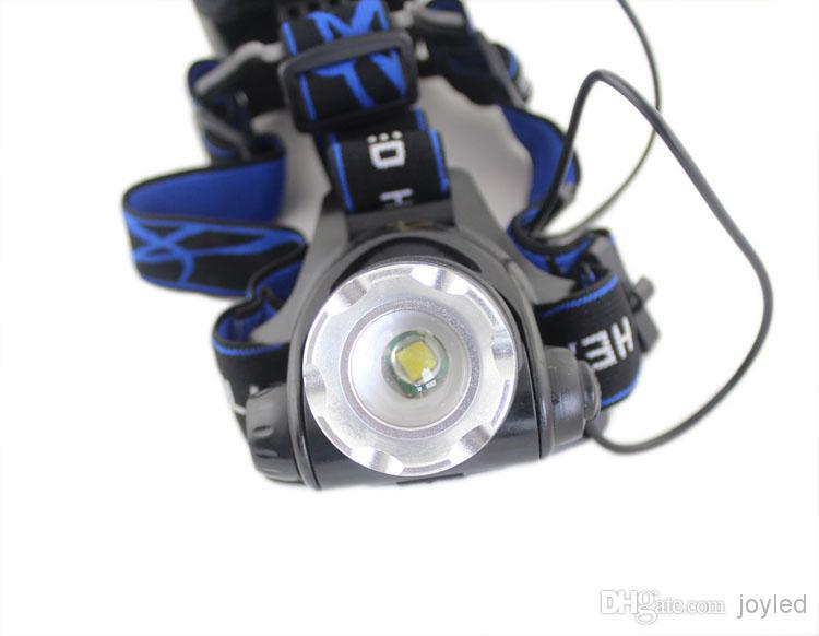 Top Quality 2000 Lumens Headlamp Cree Xm L T6 Led