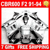7gifts+ Kit For HONDA CBR600F2 91- 94 Repsol White black CBR60...