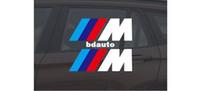 Wholesale Excellent New M car Sticker Badge For BMW m3 m5 X1 X3 X5 X6 E36 E39 E46 E30 E60 E92