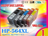 Wholesale 5x HP XL Ink Cartridges for Photosmart B109 B110 B209 B210 HP Officejet C5300 printers with chip