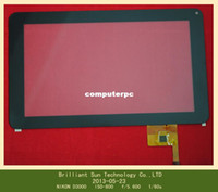 Wholesale inch touch screen touch panel digitizer glass for Q9 inch Android Tablet PC All Winner A13 ODP TPC0027