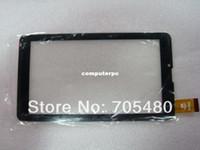 """Al por mayor-Nueva 7"""" Orro A960 MTK6577 MTK6527 Tablet PC TP FM707101KD FM707101KC FM707101KE HS1275 LLT JX130829A panel de pantalla táctil Digitalizador"""
