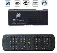 Included live chat - MK808 Dual Core Android Jelly Bean TV BOX RK3066 Cortex A9 Mini PC Stick Support Skype Live Chat Air Mouse keyboard RC11