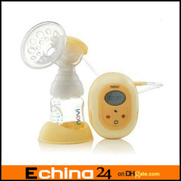 Wholesale PP Electric breast pump BPA free material milk pump FDA PP material Easy to assemble silent motor XB Retail Box