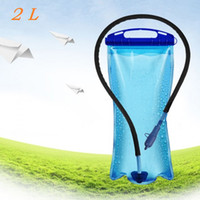 backpack bicycle - High quality L PEVA Wide Mouth Hydration Water Bladder Bag for Sports Hiking Camping Climbing Bicycle Backpack Portable Dropshipping