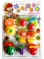 Wholesale Kitchen Toys Fruit Vegetables Simulation Educational Toys Childrens Pretend Play And Dress up Toys