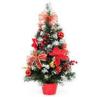 Christmas Tree Christmas Decoration Supplies other Christmas decoration gift 60cm red bonsai tree bonsai countertop christmas tree decoration christmas products