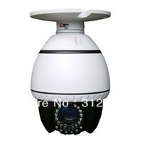 Pan / Tilt / Zoom Video Camera CCD 700TVL 1 3 Sony CCD 4 Inch Mini IR High Speed Dome PTZ Camera With 35m IR Distance 10X optical Zoom