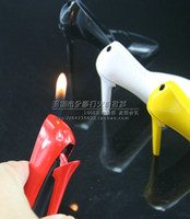 Electronic Plastic Cigarette Creative lighters female boots windproof lighters cheap wholesale ms high-heeled boots(183)