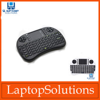 Wholesale Slim Rii i8 GHz Mini Wireless Fly Air Mouse Keyboard with Touchpad Keyboard For PC Pad Google Andriod TV Box Tablet PC PS X box