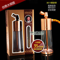 Glass Zobo  Real water pipe water pipes of pipe loop filter copper quality goods is free shipping(121)