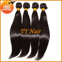 Malaysian Hair Straight Under $30 5A Malaysian Hair Bundles 3pcs 4pcs Lot Cheap Malaysian Virgin Hair Straight Queen Hair Products Remy Human Hair Extensions Can Dye Bleach