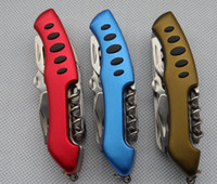 Wholesale Red Swiss Champ mm Switzerland Stainless Steel Knife Multifunctional Folding Army Knives Outdoors Survival Knife