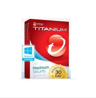 Antivirus & Security Trial Windows Code for Trend Micro Titanium Internet Security 2014 2013 1yr 1pc