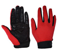 Wholesale LKJ outdoor Hiking sports gloves bicycle motorcycle riding gloves breathable mesh driving gloves