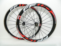 Wholesale FFWD F4R FFWD F6R Carbon Alloy Brake Surface Wheelset mm mm Black Red Carbon Road Bike Wheels Clincher