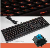 IPad & Tablet orange red led - Ducky DK2108S Shine Zero Mechanical keyboard Cherry MX Brown Black Red Blue switch W Orange LED