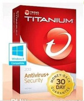 Wholesale Trend Micro Titanium Antivirus year PC all around the world code only