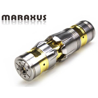 Cheap Maraxus full Mechanical mod Stainless steel and cooper material colors MOD VS chiyou nemesis KING MOD for 18650 battery in stock DHL Free