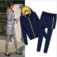 Cotton Shorts Women jumpsuits EAST KNITTIN Wholesale 5ps lot QN-75 new 2014 sport suit women Fashion casual hooded pants sport suit S M L XL