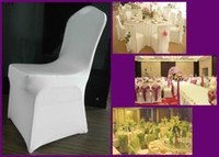 Wholesale Hot models Wedding chair cover rental multicolor stretch chair cover hotel chair covers wedding celebrations