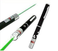 Wholesale Fashion single point Green Color mW Powerful Laser pointer Beam LED Laser