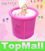 Wholesale JJ588 Adult folding aerated bath bucket Bubble bath