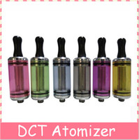 Electronic Cigarette Atomizer dct atomizer cigarette 40pcs dct atomizer cigarette 3.5ml 6ml Capacity Drip tips fit on the top 510 dct tank for EGO-T C W 510 battery dct 3.5ml 2014 for gift