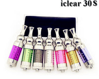 3.0ml purple blue Iclear 30s Clearomizer iclear 30s atmoizer iclear 30s tank Totatable Replaceable Duil Coil Atomizer with Innokin Itaste Nest cleartomizer