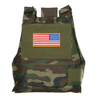 airsoft body armor - TACTICAL AIRSOFT PAINTBALL BODY ARMOR VEST WOODLAND CAMO