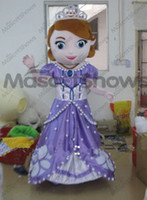 Cheap Mascot Costumes Princess Sofia mascot Best Animal Christmas sofia princess mascot