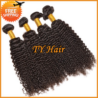 Wholesale Hot Sale A Human Hair Weave Peruvian Virgin Hair Tight Curly Hair Extensions Queen Hair Products Remy Hair Weft Bundles Can Dye