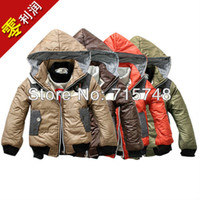 Wholesale Autumn amp Winter Boys Jackets Fashion Kids Coat Size Children Hooded Warm Clothing