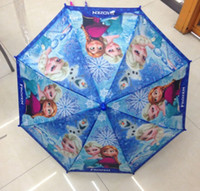 New Arrivals Children Umbrella Students Frozen Princess Elsa...
