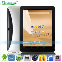Wholesale Top quality OEM quot IPS Android Tablet PC G GB GHz With WiFi GPS Bluetooth ATV MP Webcam MTK8389 Quad Core G Phablet