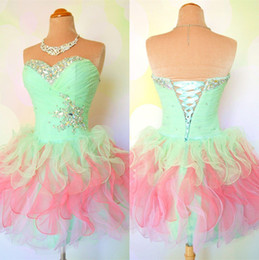 Custom Made A line Short Mini Prom Dresses, Dresses for Prom, Short Prom Dresses, Cheap Prom Dresses, Cheap Formal Dresses
