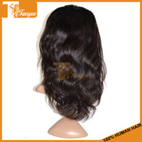 good quality wigs - Indian Human Virgin Hair Free Part Lace Front Wigs Natural Black Color B Natural Wavy Length Inch Good Quality Wigs No Shedding