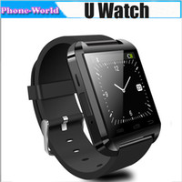 Single Core Android with MP3 2014 New Brand U8 Bluetooth Smart U Watch For Smartphone Sport Wristwatch With Remote Taking Photo Function 002293