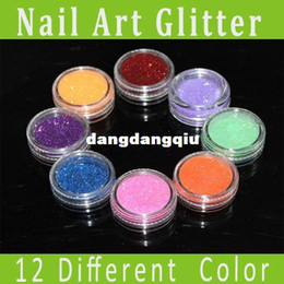 Wholesale different colors Micro Glitter Powder Nail Art Acrylic Powder