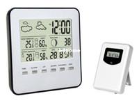 Digital other Plastic Wholesale-Wireless Digital Electronics Weather station indoor outdoor temperature humidity Sensor