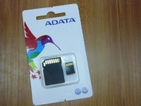 Wholesale ADATA Micro SD Card Class TF Memory Card GB GB GB Flash Micro SD SDHC Cards Adapter Retail Package FREE DHL05