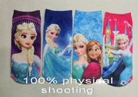 Wholesale 9 off in stock High quality The new cartoon Create snow and ice frozen MoChuan sock children s socks DROP SHIPPING HOT SALE pairs CC