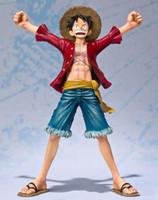 Wholesale 5 cm quot Japanese Anime Cartoon One Piece New World Luffy Two years later Action Figures PVC Tos Doll Model Collection