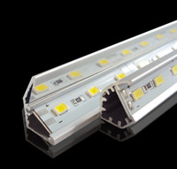 Wholesale SMD5730 led bar lights volt led lights LEDs M With V shaped Aluminum channel
