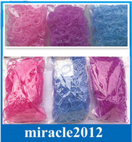 Wholesale UV change color under sunlight rubber bands loom bands refill bands bands s clips In Stock