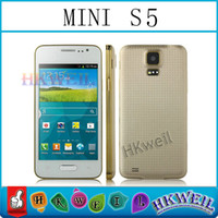 Dual Core Dual SIM Mini S5 Cell Phone 4G ROM With 4. 0Inch Sc...