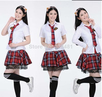 sexy school uniform - Fashion Korea amp Janpen Students Uniform Students Uniforms Sexy Lingerie White Costume Cosplay School Suit Campus Wear