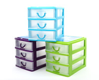 Wholesale mini plastic drawer storage cabinet storage box cosmetic box jewelry box